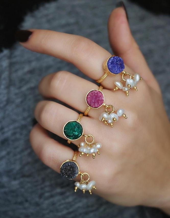 Περλίτσες Δαχτυλίδι
