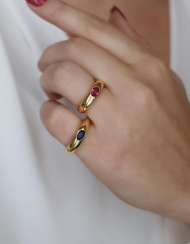 Λυδία Δαχτυλίδι Chevaliere