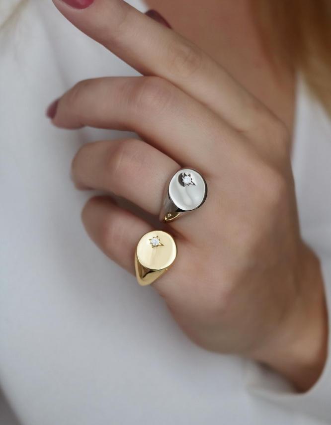 Λεάννα Δαχτυλίδι Chevaliere