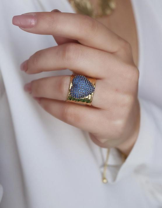 Καρδιά Δαχτυλίδι Chevaliere