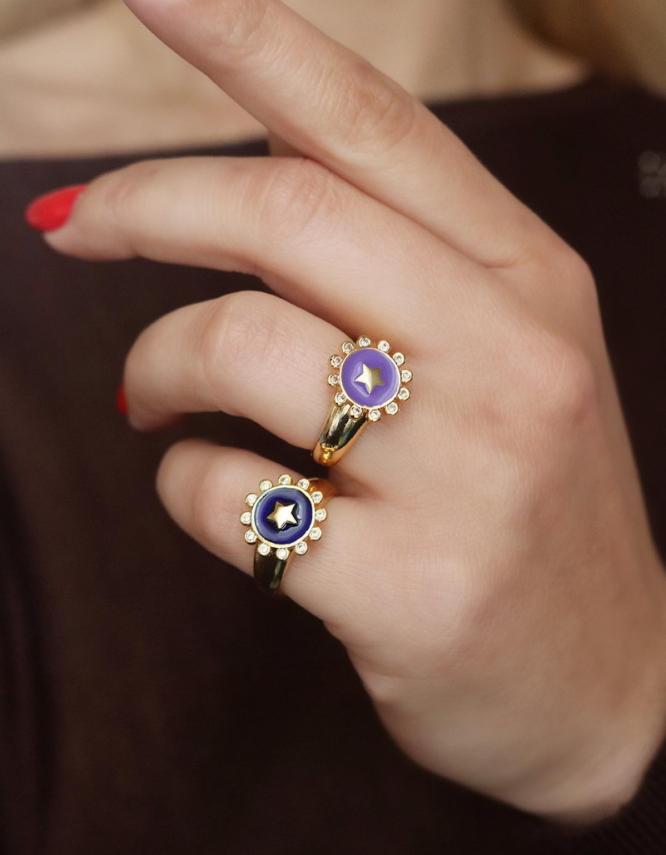 Μαργαρίτα Δαχτυλίδι Chevaliere