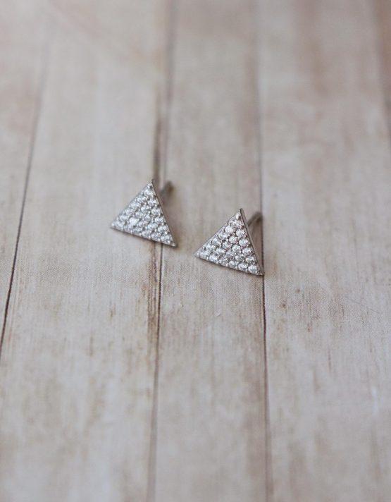 Τρίγωνα Γεωμετρικά Σκουλαρίκια