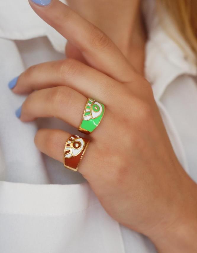Ματάκι Δαχτυλίδι (+Χρώματα)