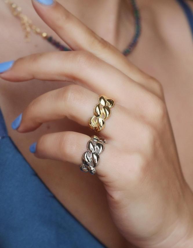 Αλκμήνη Δαχτυλίδι Chevaliere