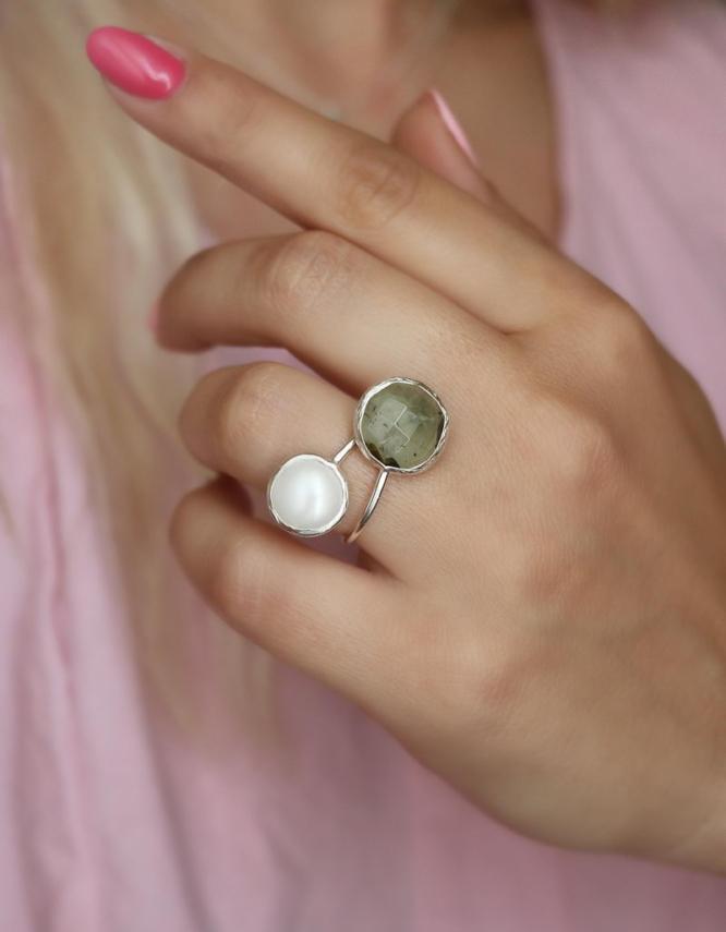 Σικελία Δαχτυλίδι Ασήμι 925