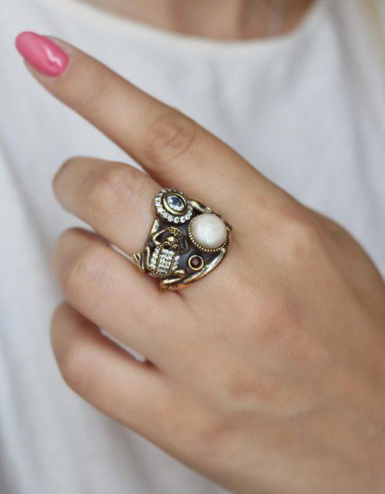 Βενετία 291 Ασήμι 925 Δαχτυλίδι