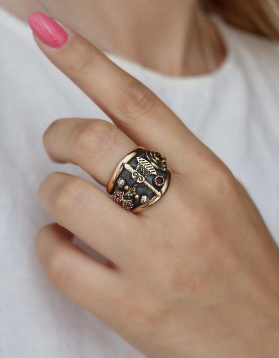 Βενετία 300 Ασήμι 925 Δαχτυλίδι