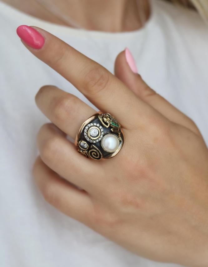 Βενετία 299 Ασήμι 925 Δαχτυλίδι