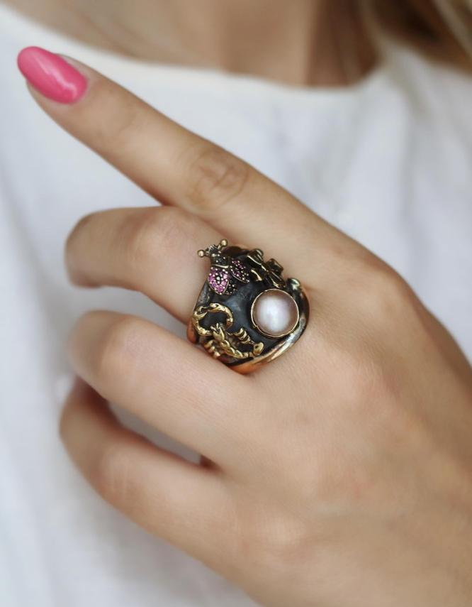 Βενετία 297 Ασήμι 925 Δαχτυλίδι