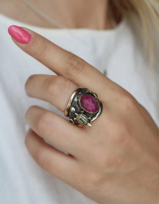 Βενετία 296 Ασήμι 925 Δαχτυλίδι