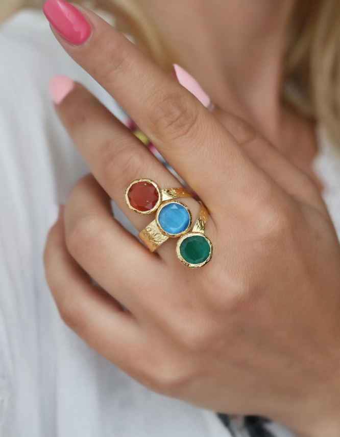 Περσεφόνη Mix Color Δαχτυλίδι