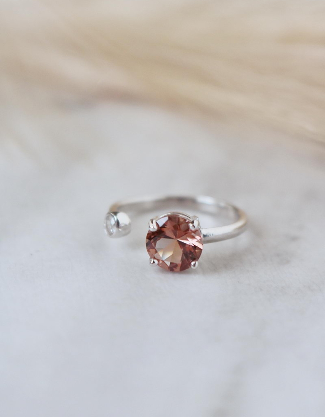 Σουλτανίτης Ασήμι 925 Δαχτυλίδι
