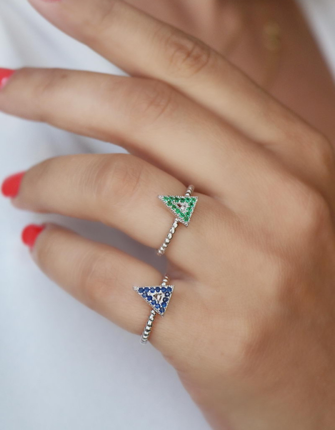 Triangle Ασήμι 925 Βεράκι