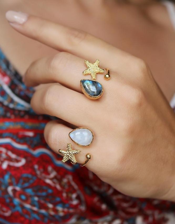 Αστερίας Δαχτυλίδι Δάκρυ