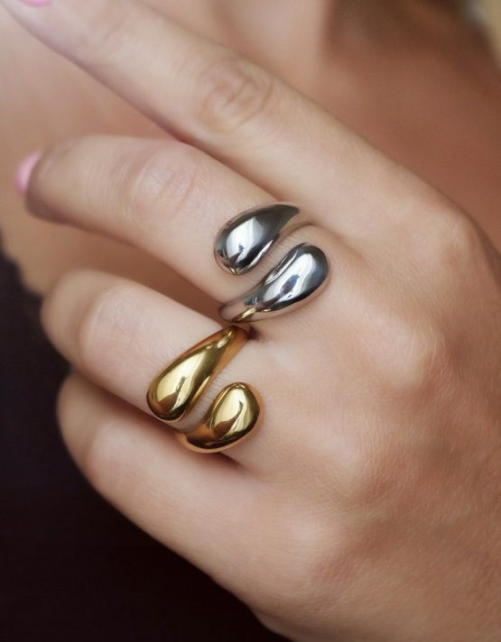 Αφροδίτη Stainless Steel Δαχτυλίδι