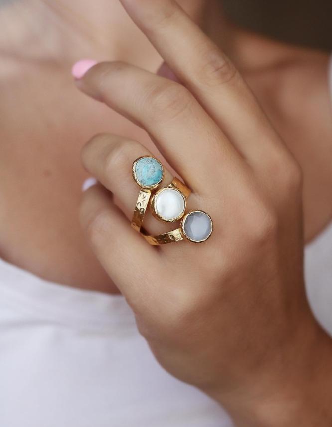 Δήμητρα Mix Color Δαχτυλίδι