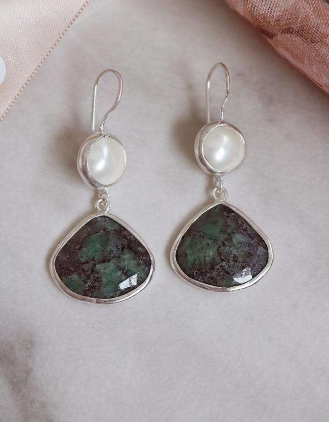 Jade Νεφρίτης Ασήμι 925