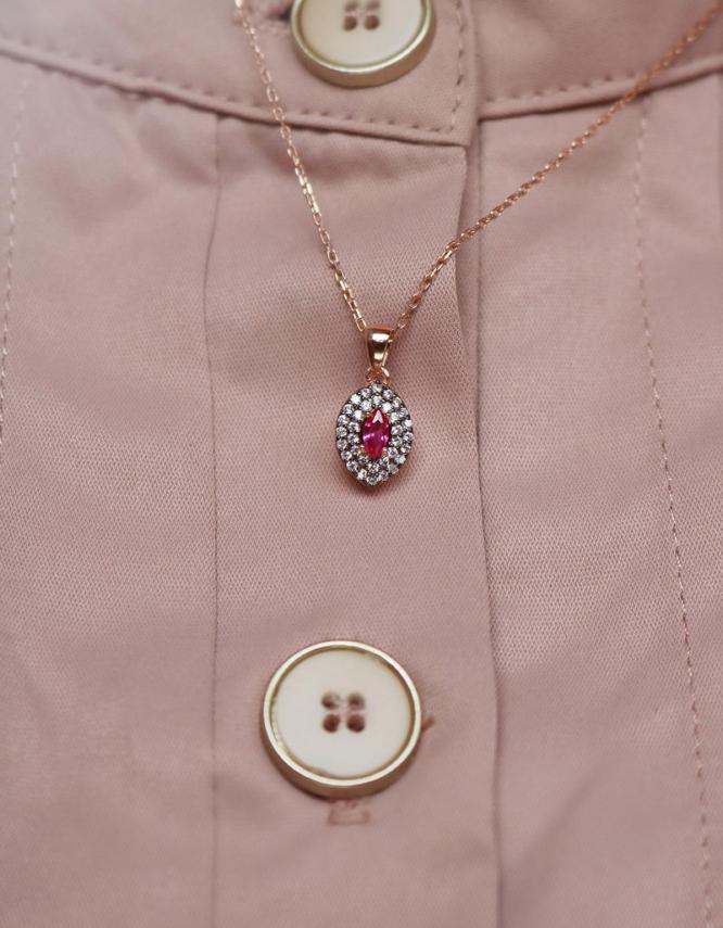 Ρωξάνη Rose Gold Ασήμι 925