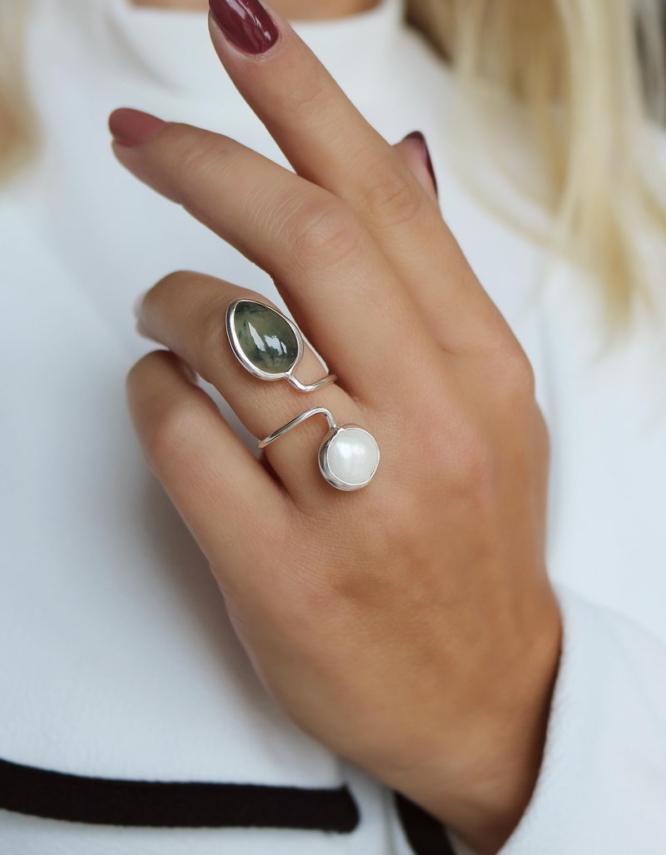 Αμάλφι Ασήμι 925 Δαχτυλίδι
