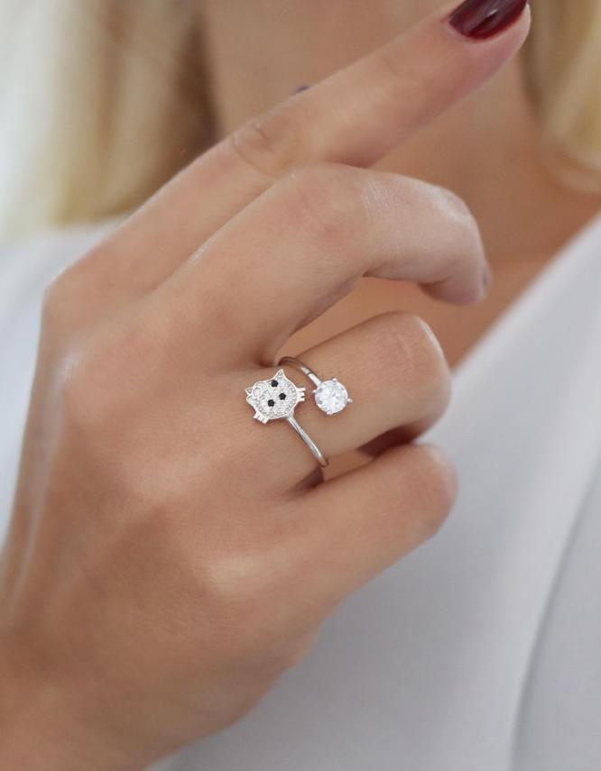 Μυρτώ Ασήμι 925 Δαχτυλίδι