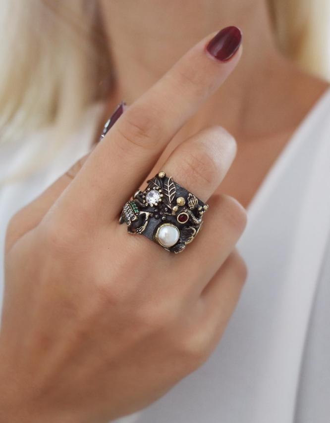Βενετία 246 Ασήμι 925 Δαχτυλίδι