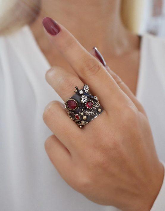 Βενετία 305 Ασήμι 925 Δαχτυλίδι