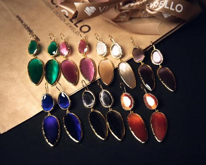 Μιλάνο Σκουλαρίκια (Χρώματα)