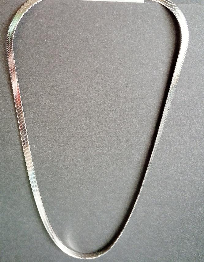 Ιοκάστη Silver Stainless Steel Κολιέ