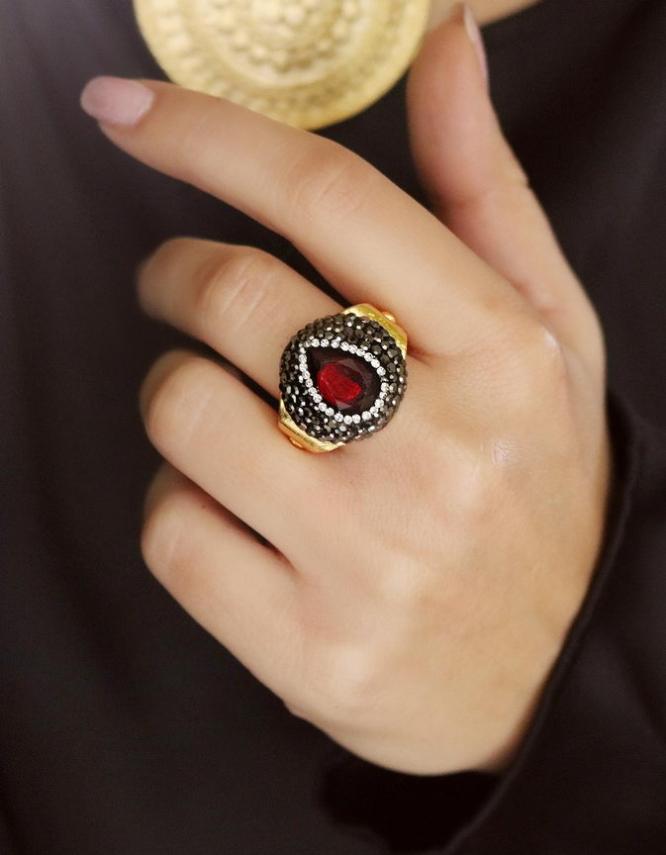 Αθηνά Κόκκινο Δαχτυλίδι