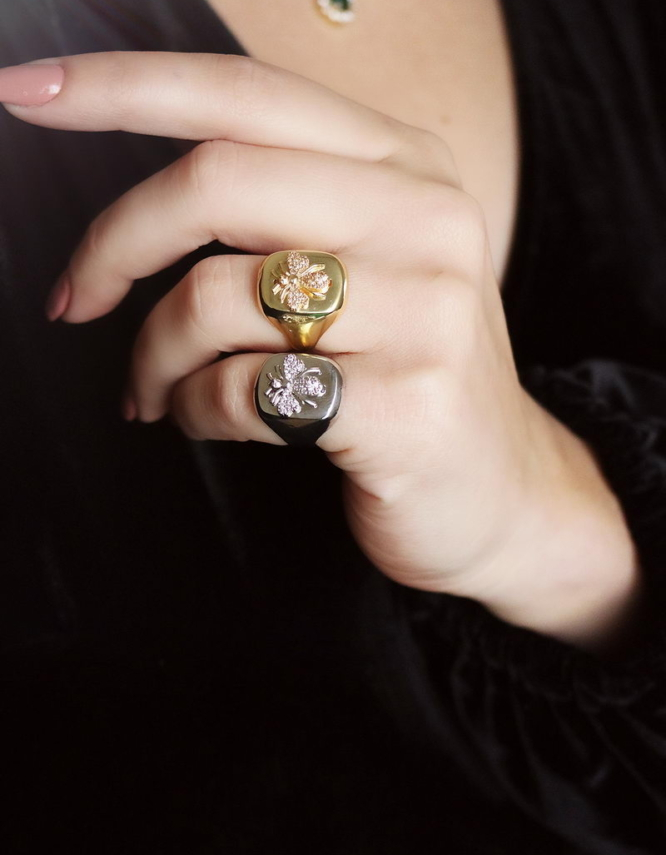 Μέλισσα Δαχτυλίδι Chevaliere